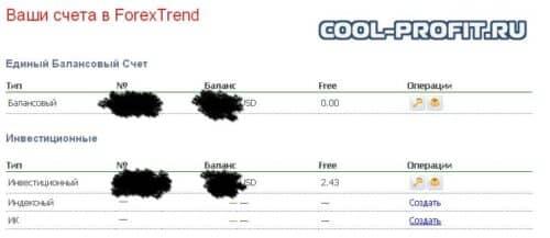 единый балансовый счет forex trend cool-profit.ru