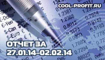 отчет по инвестированию в интернет за январь-февраль 2014 - 27.01.14 - 02.02.14