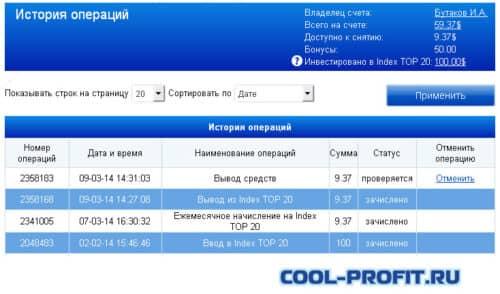 история операций после заказа выплаты forex mmcis cool-profit.ru