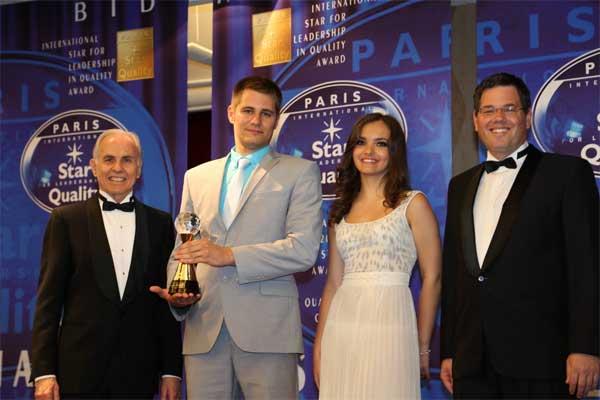 2 Компания Пантеон Финанс награждена International Star for Leadership in Quality в категории Золото для cool-profit.ru