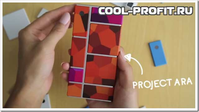 модульный смартфон Google Project Ara для cool-profit.ru