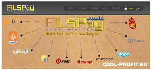 платежная система Filspay для пополнения счета в Forex MMCIS (для cool-profit.ru)