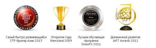 награды брокера Amarkets (Амаркетс)