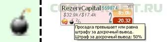 просадка превышает штраф за досрочный вывод investflow для cool-profit.ru