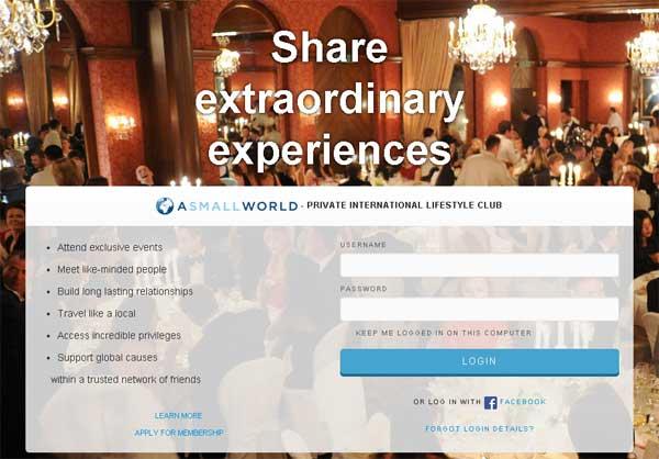 a small world социальная сеть для богатых (cool-profit.ru)