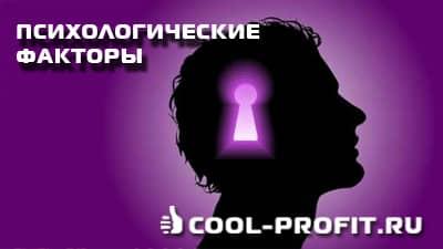Психологические факторы воздействия (cool-profit.ru)
