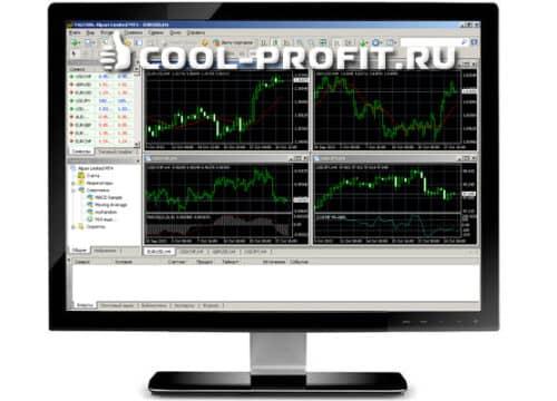 Торговый терминал MetaTrader4 (cool-profit.ru)