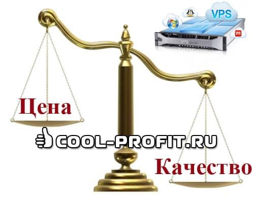 Соотношение цена-качество (для cool-profit.ru)