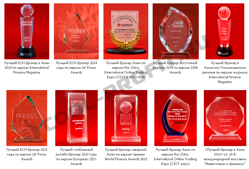 Награды 2 InstaForex (для cool-profit.ru)