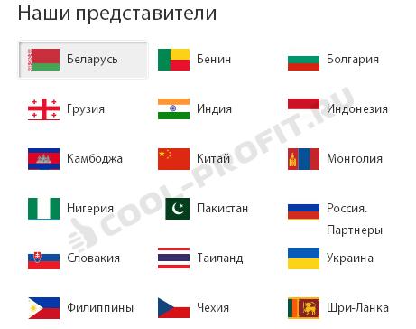 Представители LiteForex в мире (для cool-profit.ru)