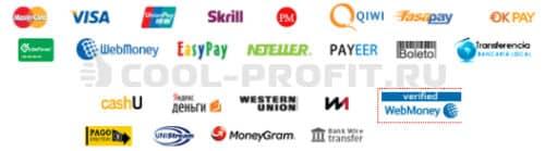 Способы взаиморасчетов с брокером LiteForex (для cool-profit.ru)