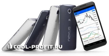 Мобильная торговля форекс (для cool-profit.ru)