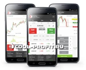 Мобильная торговля на рынке форекс через терминал xstation (для cool-profit.ru)