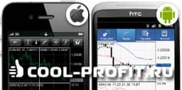 Мобильные платформы для торговли форекс (для cool-profit.ru)