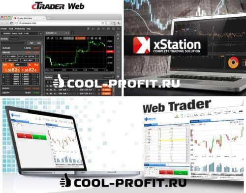 Торговые платформы для онлайн трейдинга (для cool-profit.ru)